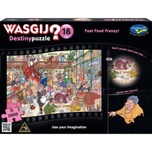 Load image into Gallery viewer, WASGIJ DESTINY 18 1000PC (FAST FOOD FRENZY)