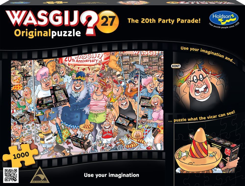 WASGIJ ORIGINAL 27 1000PC (THE 20TH PARTY PARADE!)