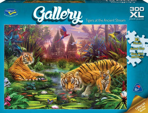 HOLDSON PUZZLE - GALLERY 5 300PC XL (TIGERS AT THE ANCIENT STREAM)