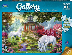 HOLDSON PUZZLE - GALLERY 5 300PC XL (UNICORN SUMMERHOUSE)