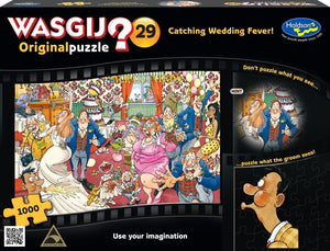 WASGIJ ORIGINAL 29 1000PC (CATCHING WEDDING FEVER)