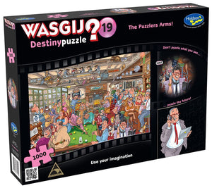 WASGIJ DESTINY 19 1000PC (THE PUZZLERS ARMS!)