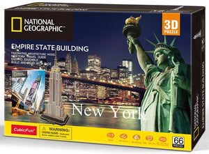 3D PUZZLE - NEW YORK - EMPIRE STATE BUILDING