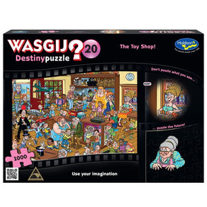 WASGIJ DESTINY 20 1000PC (THE TOY SHOP!)