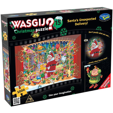 HOLDSON PUZZLE - WASGIJ CHRISTMAS 15 - 1000PC (SANTA'S UNEXPECTED DELIVERY!)