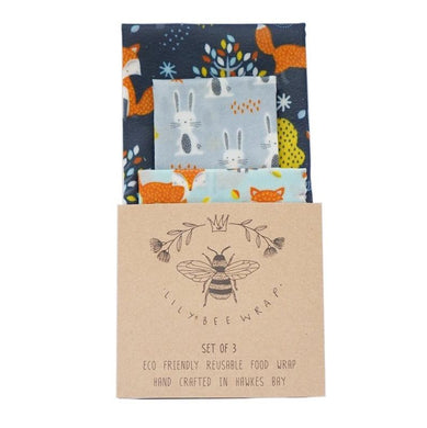 Lilybee Wrap Foxy Friends - Set of 3