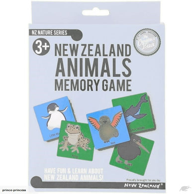 Memory Game NZ Animals Box Set