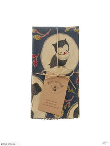 FURANO OWLS - XL SINGLE (THICK CANVAS)
