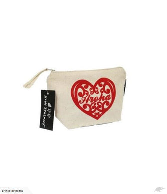 Bag Cosmetic Aroha NZ 9x12.5cm