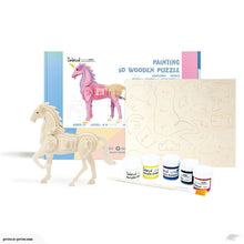 Load image into Gallery viewer, Robotime Painting 3D Wooden Puzzle - Unicorn