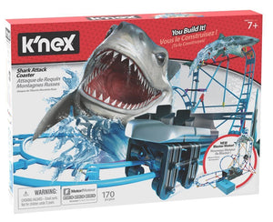 KNEX - TABLE TOP SHARK ATTACK ROLLER COASTER