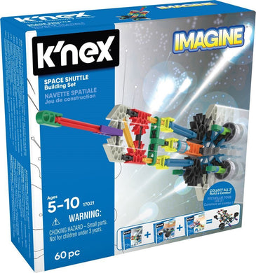 KNEX - IMAGINE SPACE SHUTTLE 60PC SET