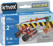 Load image into Gallery viewer, KNEX - CRANE MICRO 38PC BUILDING SET