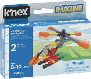 KNEX - HELICOPTER MICRO 38PC BUILDING SET