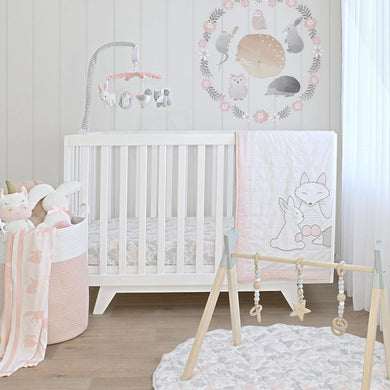 4-PIECE NURSERY SET - FOREST FRIENDS
