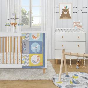 4-PIECE NURSERY SET - WOODS