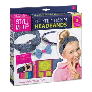STYLE ME UP - DENIM HEADBANDS