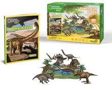 Load image into Gallery viewer, National Geographic Kids: Dinosaurs Park - 43 Piece 3D Puzzle