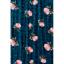 Load image into Gallery viewer, Single Cotton Muslin Swaddle - Midnight Rose