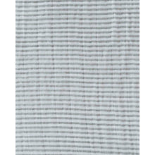 Load image into Gallery viewer, Single Cotton Muslin Swaddle - Grey Stripe
