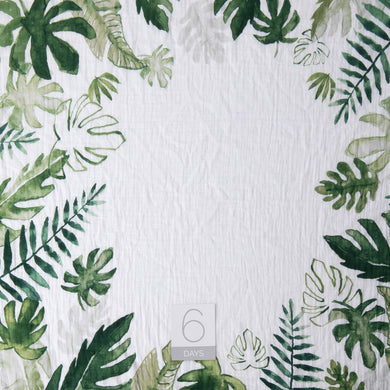 Photo Blanket & Milestone Set - Tropical Leaf
