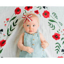 Load image into Gallery viewer, Photo Blanket & Milestone Set - Summer Poppy