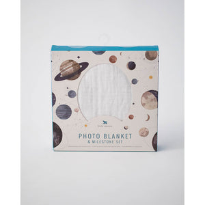 Photo Blanket & Milestone Set - Planetary