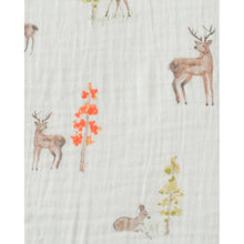 Load image into Gallery viewer, Cotton Muslin Cot Sheet - Oh Deer