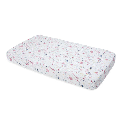 Cotton Muslin Cot Sheet - Fairy Garden