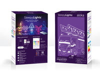 Load image into Gallery viewer, Aloka USB/Battery LED Night Light - Fire Engine