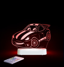 Load image into Gallery viewer, Aloka USB/Battery LED Night Light  - Race Car