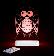 Load image into Gallery viewer, Aloka USB/Battery LED Night Light - Owl