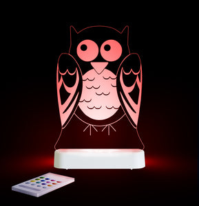 Aloka USB/Battery LED Night Light - Owl