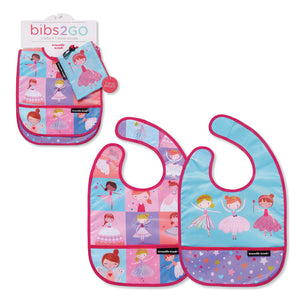Bibs-2-Go: 2-Pack - Sweet Dreams
