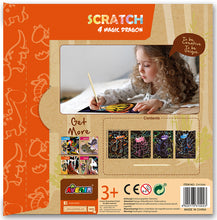 Load image into Gallery viewer, Avenir Scratch Art Kit - Magic Dragon
