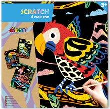 Load image into Gallery viewer, Avenir: Scratch Art Kit - Magic Bird