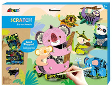 Load image into Gallery viewer, Scratch Jointed Puppet Kit Forest Animals