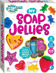 ZAP! Extra DIY Soap Jellies