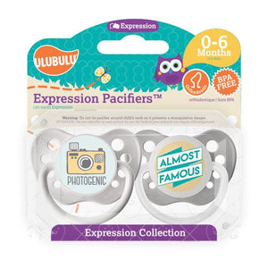 Photogenic & Almost Famous 0-6M Pacifier