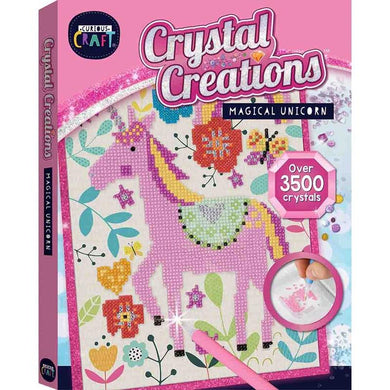 Curious Craft Crystal Creations Canvas Magical Unicorn