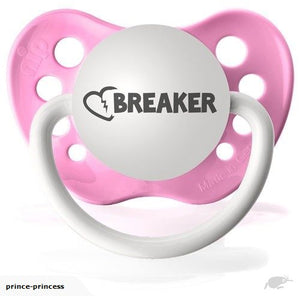 Heartbreaker Hot Pink pacifier