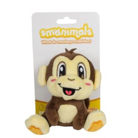 Smanimals Backpack Buddy Monkey Banana