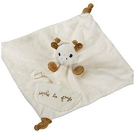 Sophie the Giraffe comforter and soother holder
