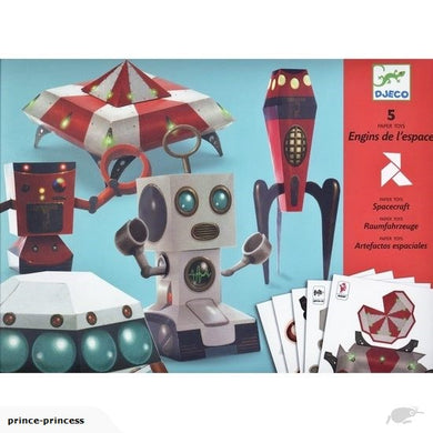 Djeco Paper Toys - Spacecraft