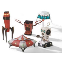 Load image into Gallery viewer, Djeco Paper Toys - Spacecraft