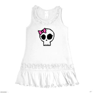 Girly Skull Tank Top Dress