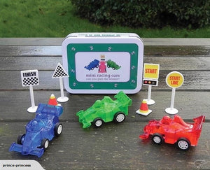 Mini Gifts In A Tin Mini Racing Cars