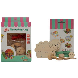 ELF WOODEN THREADING SET SHEEP