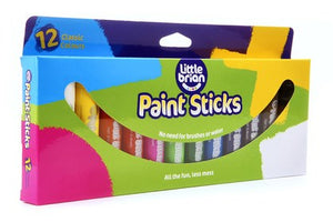 Little Brian Paint Sticks - Classic 12pk