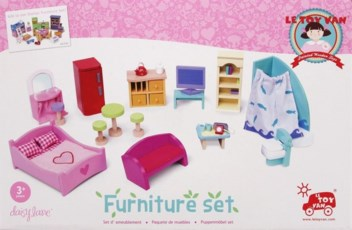 Doll's House Furniture Set
